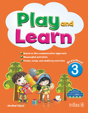 PLAY AND LEARN 3. PRESCHOOL. CD INCLUDED