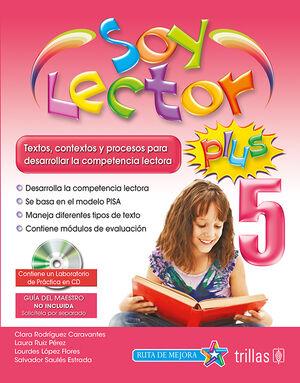 SOY LECTOR PLUS 5. CONTIENE UN LABORATORIO DE PRACTICA EN CD