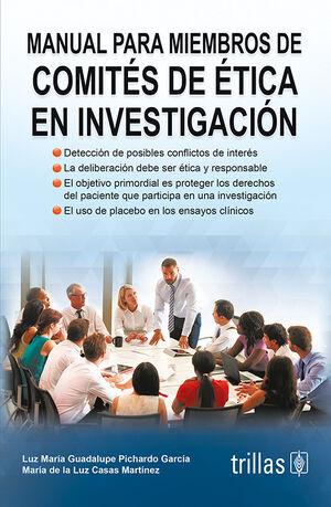 MANUAL PARA MIEMBROS DE COMITES DE ETICA EN INVESTIGACION