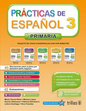 PRACTICAS DE ESPAÑOL, PRIMARIA 3