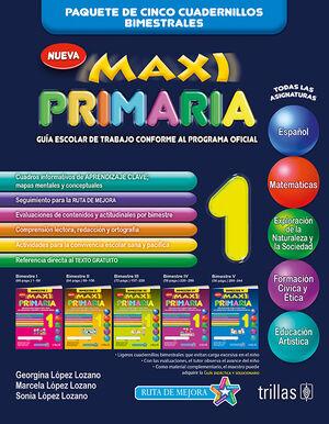 MAXI PRIMARIA 1. GUIA ESCOLAR DE TRABAJO