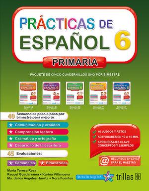 PRACTICAS DE ESPAÑOL, PRIMARIA 6