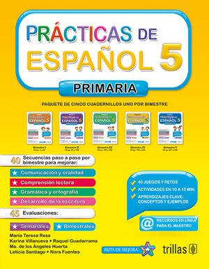 PRACTICAS DE ESPAÑOL, PRIMARIA 5