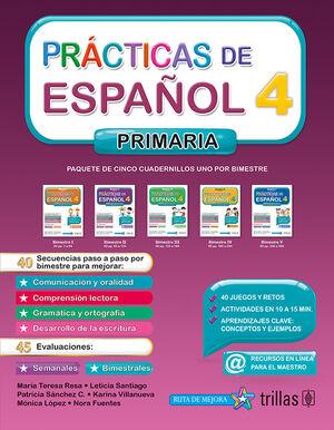 PRACTICAS DE ESPAÑOL, PRIMARIA 4