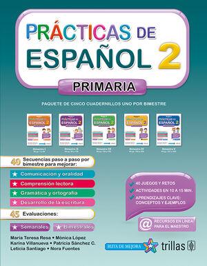 PRACTICAS DE ESPAÑOL, PRIMARIA 2