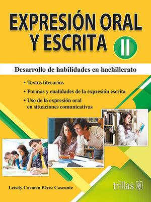 EXPRESION ORAL Y ESCRITA II