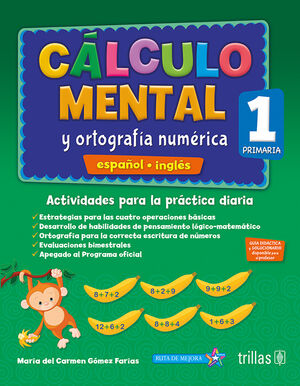 CALCULO MENTAL Y ORTOGRAFIA NUMERICA 1, PRIMARIA