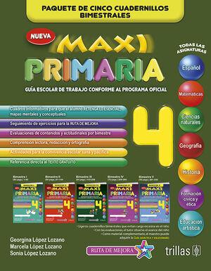 MAXI PRIMARIA 4. GUIA ESCOLAR DE TRABAJO