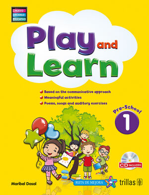 PLAY AND LEARN 1. PRESCHOOL. CD INCLUDED