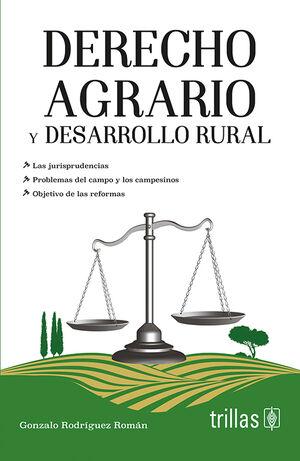DERECHO AGRARIO Y DESARROLLO RURAL