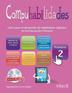 COMPUHABILIDADES, PRIMARIA 2. INCLUYE CD