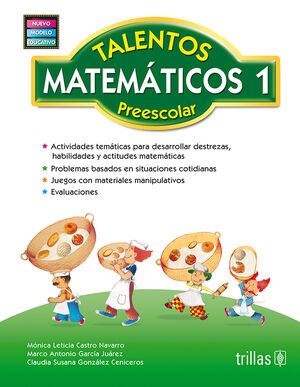 TALENTOS MATEMATICOS, PREESCOLAR 1