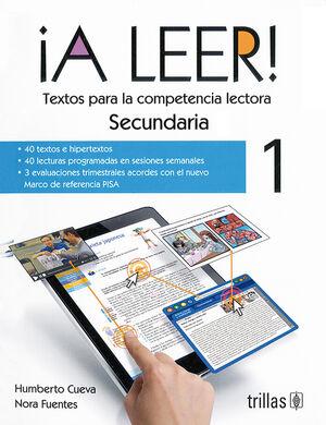A LEER! 1, SECUNDARIA