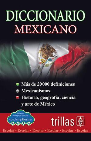 DICCIONARIO ESCOLAR MEXICANO (COACHING TRILLAS)
