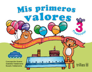 MIS PRIMEROS VALORES, PREESCOLAR 3 (COACHING TRILLAS)