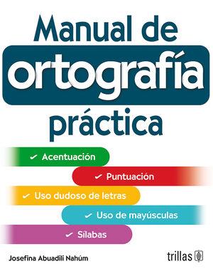 MANUAL DE ORTOGRAFIA PRACTICA