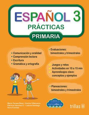 ESPAÑOL 3. PRACTICAS, PRIMARIA (COACHING TRILLAS)