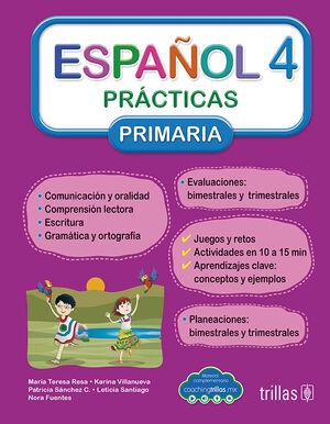 ESPAÑOL 4. PRACTICAS, PRIMARIA (COACHING TRILLAS)
