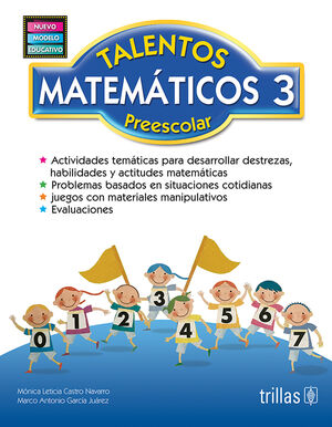 TALENTOS MATEMATICOS, PREESCOLAR 3