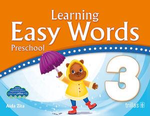 LEARNING EASY WORDS PRESCHOOL 3.(COACHING TRILLAS)