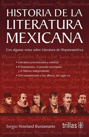 HISTORIA DE LA LITERATURA MEXICANA