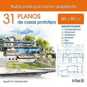 31 PLANOS DE CASA PROTOTIPO 40 A 80M2