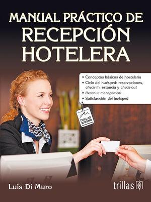 MANUAL PRÁCTICO DE RECEPCIÓN HOTELERA