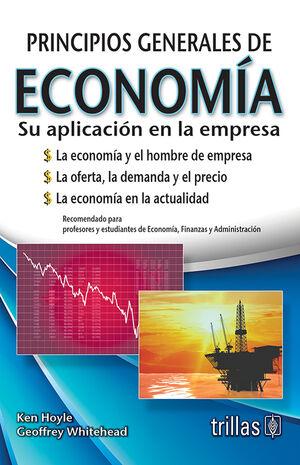 PRINCIPIOS GENERALES DE ECONOMÍA