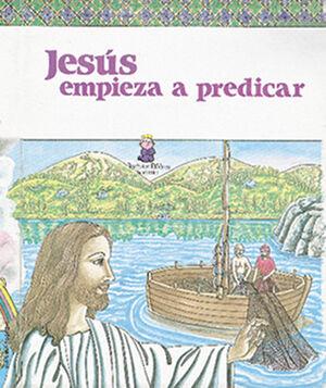 JESÚS E MPIEZA A PREDICAR