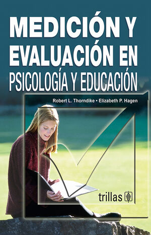 MEDICION Y EVALUACION EN PSICOLOGIA Y EDUCACION