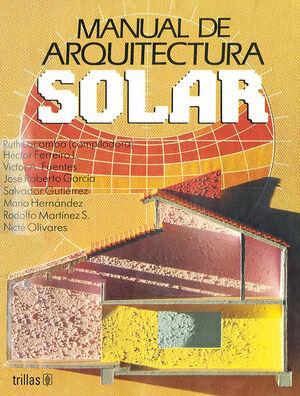 MANUAL DE ARQUITECTURA SOLAR