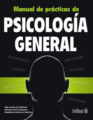 MANUAL DE PRACTICAS DE PSICOLOGIA GENERAL