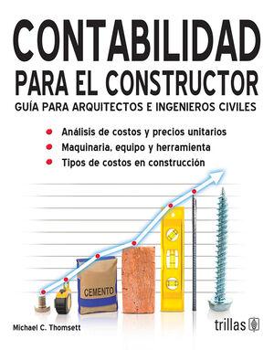 CONTABILIDAD PARA EL CONSTRUCTOR