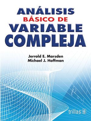 ANALISIS BASICO DE VARIABLE COMPLEJA