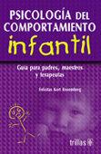 PSICOLOGÍA DEL COMPORTAMIENTO INFANTIL