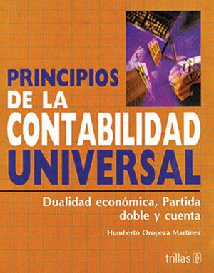 PRINCIPIOS DE LA CONTABILIDAD UNIVERSAL