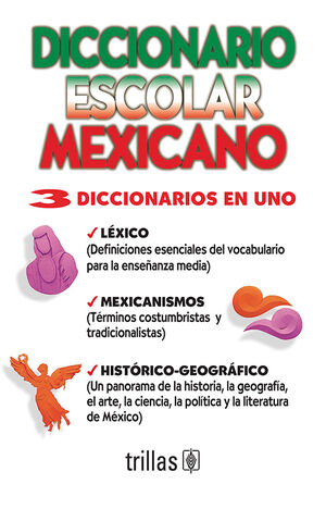 DICCIONARIO ESCOLAR MEXICANO
