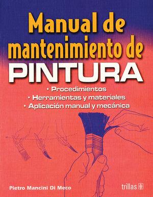 MANUAL DE MANTENIMIENTO DE PINTURA