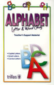 ALPHABET LETTER & WORD CARDS. VOCABULARY. TEACHER'S SUPPORT MATERIAL.