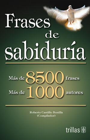 FRASES DE SABIDURIA