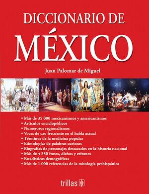 DICCIONARIO DE MEXICO