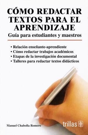 COMO REDACTAR TEXTOS PARA EL APRENDIZAJE