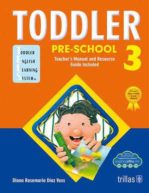 TODDLER PRE-SCHOOL 3 (COACHING TRILLAS)