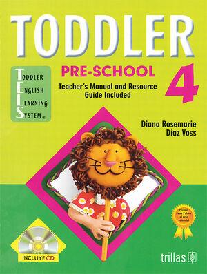 TODDLER PRE-SCHOOL 4