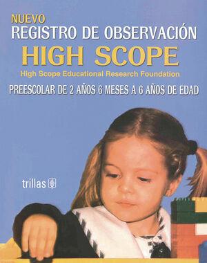 NUEVO REGISTRO DE OBSERVACIÓN HIGH SCOPE