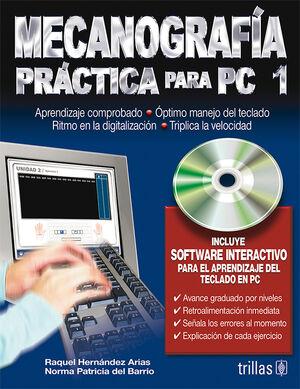 MECANOGRAFIA PRACTICA PARA PC 1. INCLUYE CD SOFTWARE INTERACTIVO