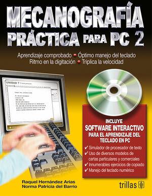 MECANOGRAFIA PRACTICA PARA PC2. INCLUYE SOFTWARE INTERACTIVO