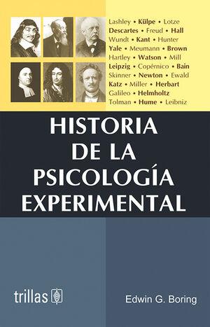 HISTORIA DE LA PSICOLOGIA EXPERIMENTAL