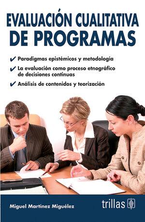 EVALUACION CUALITATIVA DE PROGRAMAS