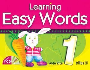 LEARNING EASY WORDS PRESCHOOL 1. CD INCLUDED